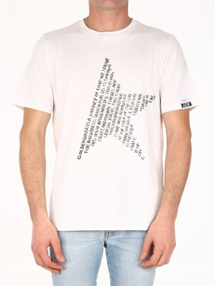 Golden Goose T-shirt Star White