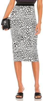 le superbe Leopard King Liza Skirt