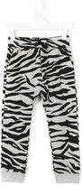 Kenzo zebra print track pants