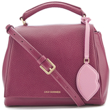 Lulu Guinness Women's Rita Small Shoulder Bag with Lip Charm Cassis
