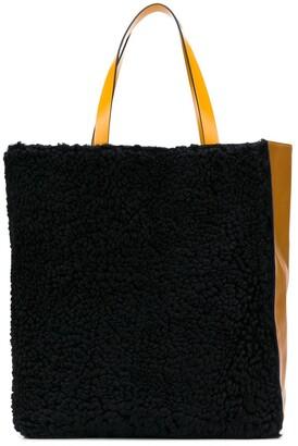 Marni Museo two-tone tote bag