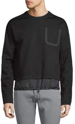 Diesel Black Gold Siros Tiered Sweatshirt