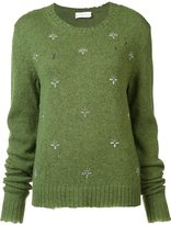 Faith Connexion floral embellished pullover