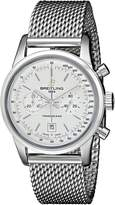 Breitling Men's A4131012-G757SS Analog Display Swiss Automatic Silver Watch