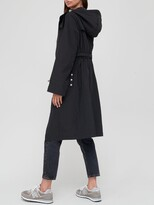 Thumbnail for your product : Very Longline Shower Resistant Coat - Black