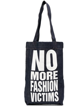Katharine Hamnett No More Fashion Victims tote bag