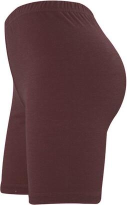 Elegant Vaps Womens Lycra Cotton Cycling Shorts Gym Shorts Above Knee Length Yoga Pants Running Leggings S-XXL (M