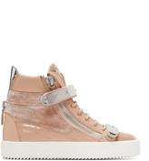 Giuseppe Zanotti Pink May London High-Top Sneakers