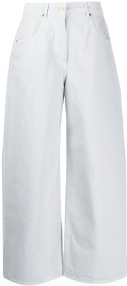 Jacquemus Wide-Leg Denim Jeans