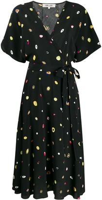 Diane von Furstenberg Agate print dress