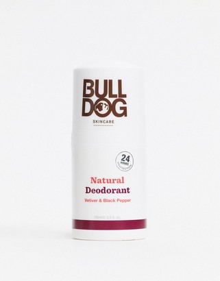Bulldog Black Pepper & Vetiver Deodorant 75ml