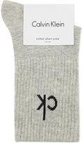 Calvin Klein Icon logo short crew socks