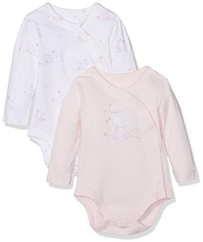 Mothercare Little Mouse Bodysuits - 2 Pack, Multi, (Manufacturer Size:50)