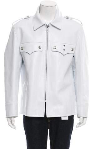 Calvin Klein 2018 Leather Jacket w/ Tags