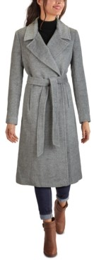 Cole Haan Belted Maxi Coat