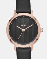 DKNY The Modernist Black Analogue Watch