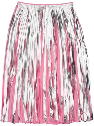 Marni Junior Metallic Coated Skirt