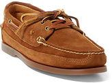 Polo Ralph Lauren Barnard Suede Boat Shoe