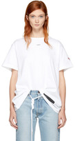 Off-White White Brushed Arrows T-shirt