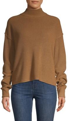 John & Jenn Mockneck Long-Sleeve Sweater