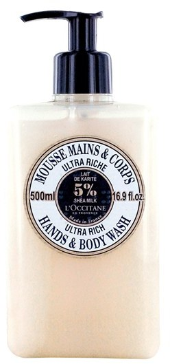 L'Occitane Ultra Rich Hand & Body Wash (16.9 oz.) (Limited Edition) ($33 Value)