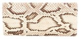 Smythson Snakeskin Travel Wallet