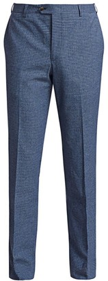 Saks Fifth Avenue COLLECTION Check Pants