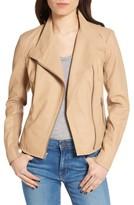 Andrew Marc Women's Felicia Asymmetrical Zip Leather Jacket