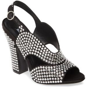 Prada Jewel Slingback Sandal