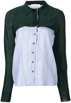 Cédric Charlier panelled shirt