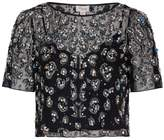 Temperley London Embellished Night Top