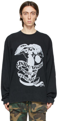 Rhude Black Angel Long Sleeve T-Shirt