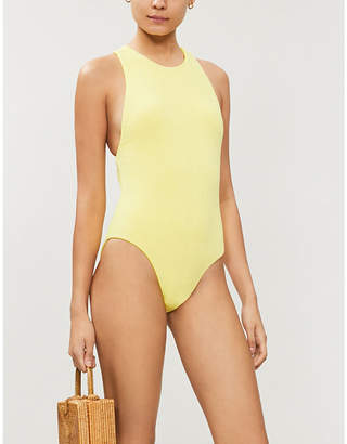 Seafolly Cutout-back swimsuit