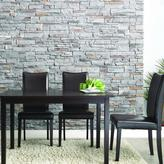 5-piece Dark Brown Modern Dining Set