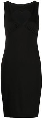 Love Moschino Heart Cutout Dress