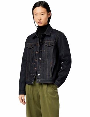 Meraki Women's Standard Basic Denim Jacket