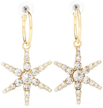 Jennifer Behr Ciel crystal-embellished earrings