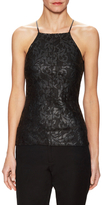 Bailey 44 Lace Front Sleeveless Top