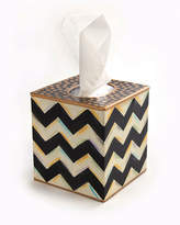 Mackenzie Childs MacKenzie-Childs Zig Zag Tissue Box Cover