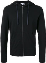 James Perse zipped hoodie - men - Cotton - S