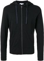 James Perse zipped hoodie - men - Cotton - S