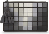 Anya Hindmarch Georgiana pixel leather clutch