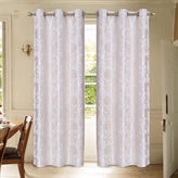 Laura Ashley Renee 2-Pack Grommet-Top Curtain Panels