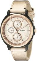 Fossil Women's ES3772 Chelsey Crystal-Accented -Tone Stainless Steel Watch