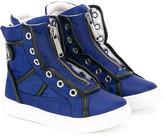DSQUARED2 zipped hi-top sneakers