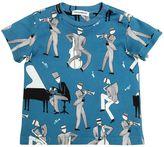 Dolce & Gabbana Musicians Print Cotton Jersey T-Shirt