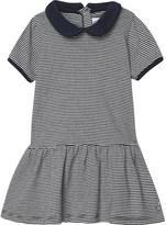 Petit Bateau Milleraies-striped cotton dress 3-36 months