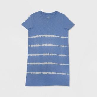 Universal Thread Woen's Short Sleeve Tie-Dye T-Shirt Dress - Universal ThreadTM