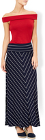 Monsoon Sinata Stripe Maxi Skirt