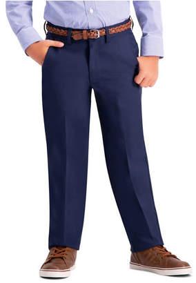 Haggar Husky Boys Cool 18 Pro, Reg Fit, Flat Front Pant